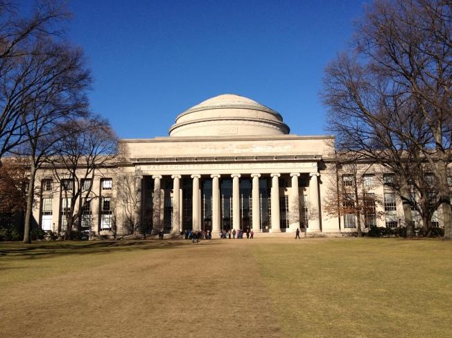 MIT's main cupola, taken 02/06