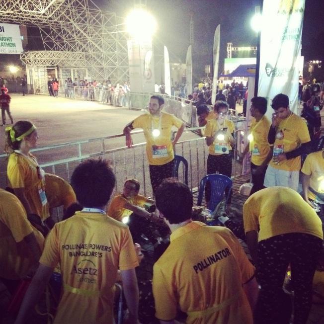 Bengaluru midnight marathon