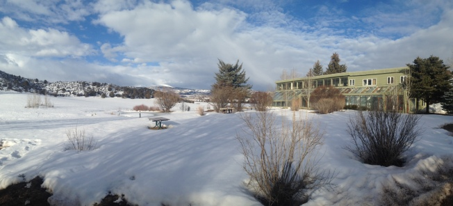 RMI's office in Snowmass, close to Aspen—the former estate of John Denver.